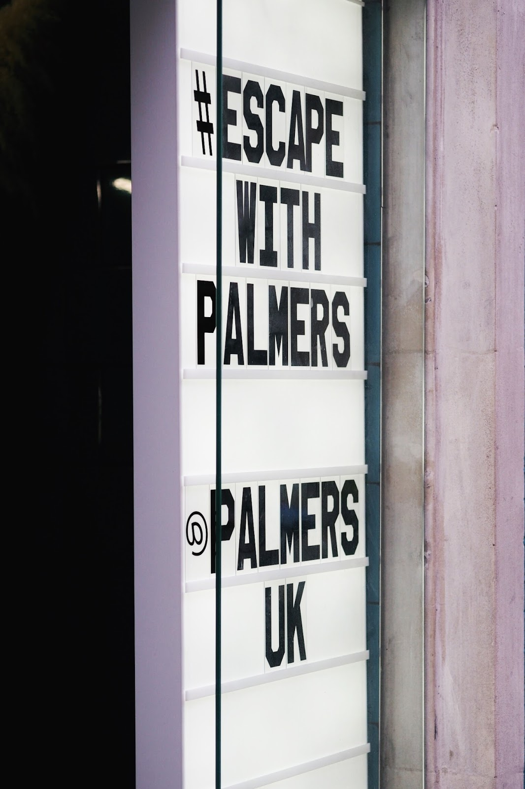 Palmer's wash and blow dry at Duck and Dry oxford circus fitzrovia