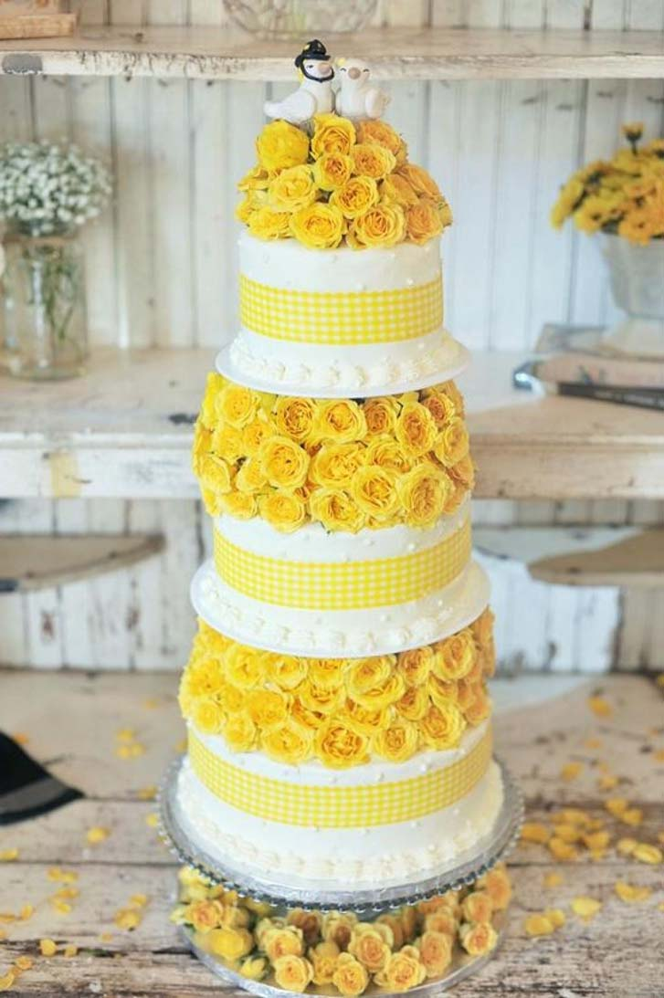 Modern Vintage Wedding Cakes Design | Cake Magazine