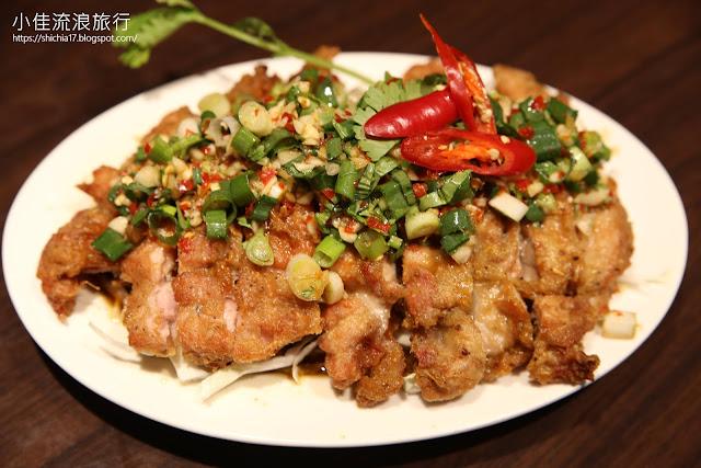 泰獅泰式料理,泰式酸椒麻雞
