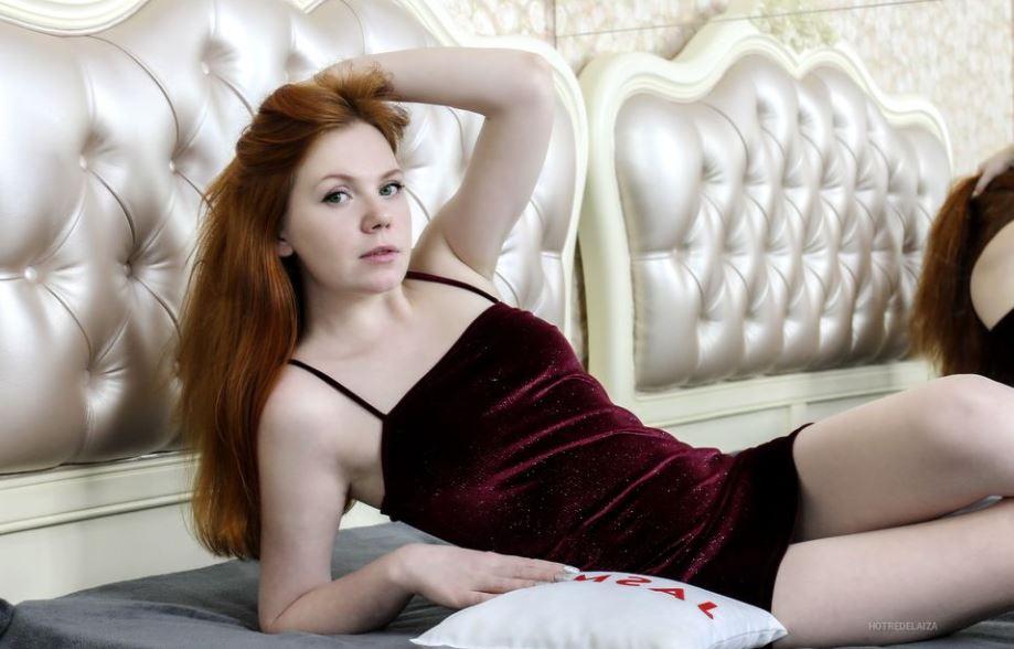 HotRedElaiza Model GlamourCams