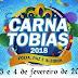 Divulgada a programação oficial do Carnatobias 2018