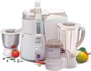 SUJATA Plastic Powermatic Plus 3 Jar-Juicer Mixer Grinder
