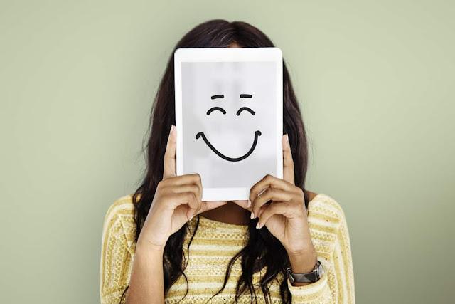 hidup kebahagiaan, pribadi, tidak bahagia, senyum