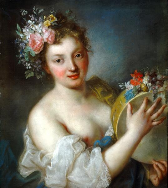 Rosalba Carriera Аллегория музыки