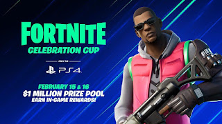 Celebration Cup, a special Fortnite PS4 tournament with fantastic prizes