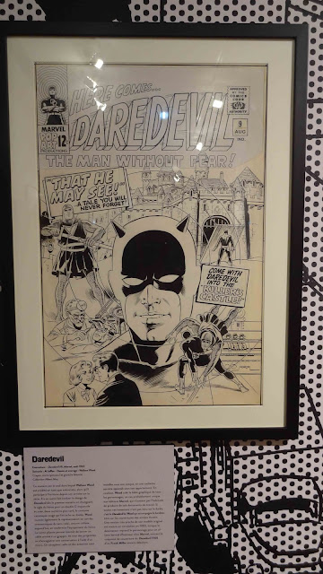 Exposition FIBD 2020 Tsuge Woods Musée angoulême planche Daredevil