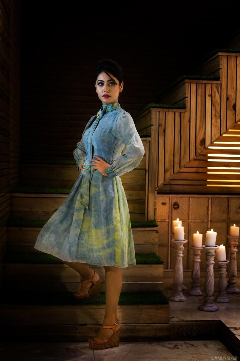 Charvi Tanya Dutta Campaign Shoot for India International Style Week Jaipur