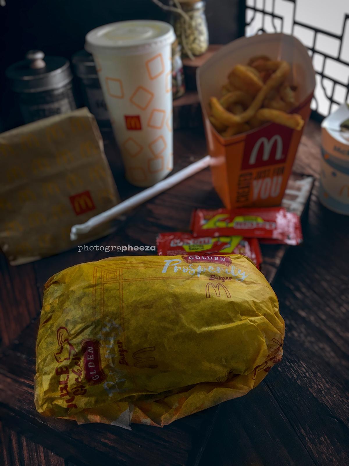 Golden Prosperity burger price Set Large RM17.43