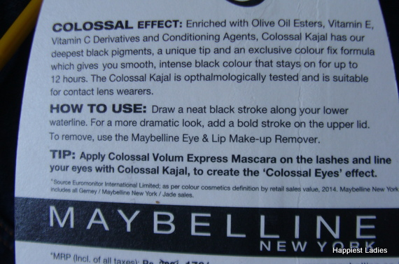 Maybelline Colossal Effect