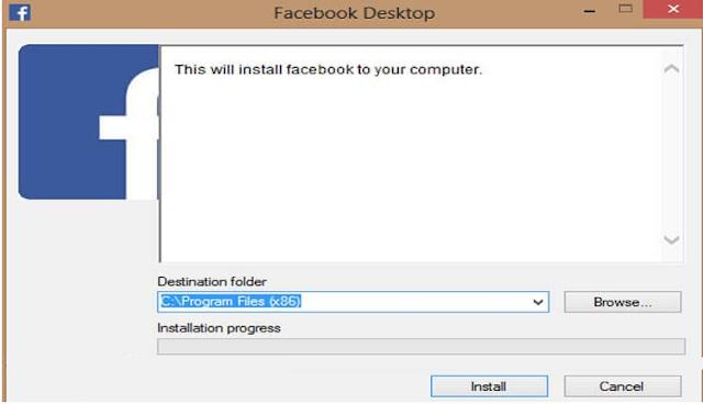 تحميل فيس بوك للكمبيوتر عربي