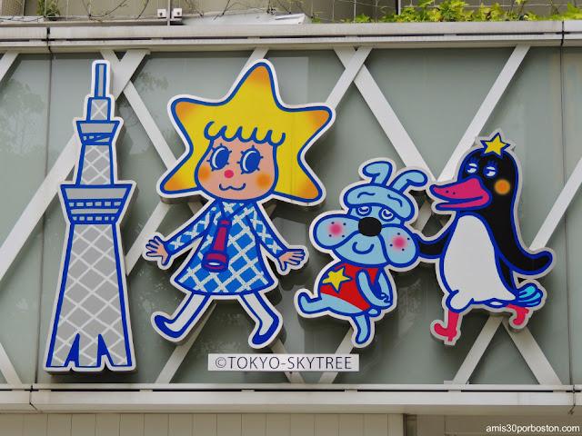 Mascotas de la Tokyo Skytree