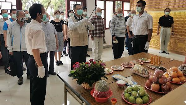 彰化榮家舉行清明祭祀 祭悼歷年在臺亡故榮民