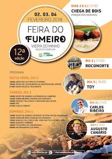 Programa da Feira do Fumeiro 2018