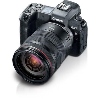 Canon EOS R DSLR Firmware Full Driversをダウンロード