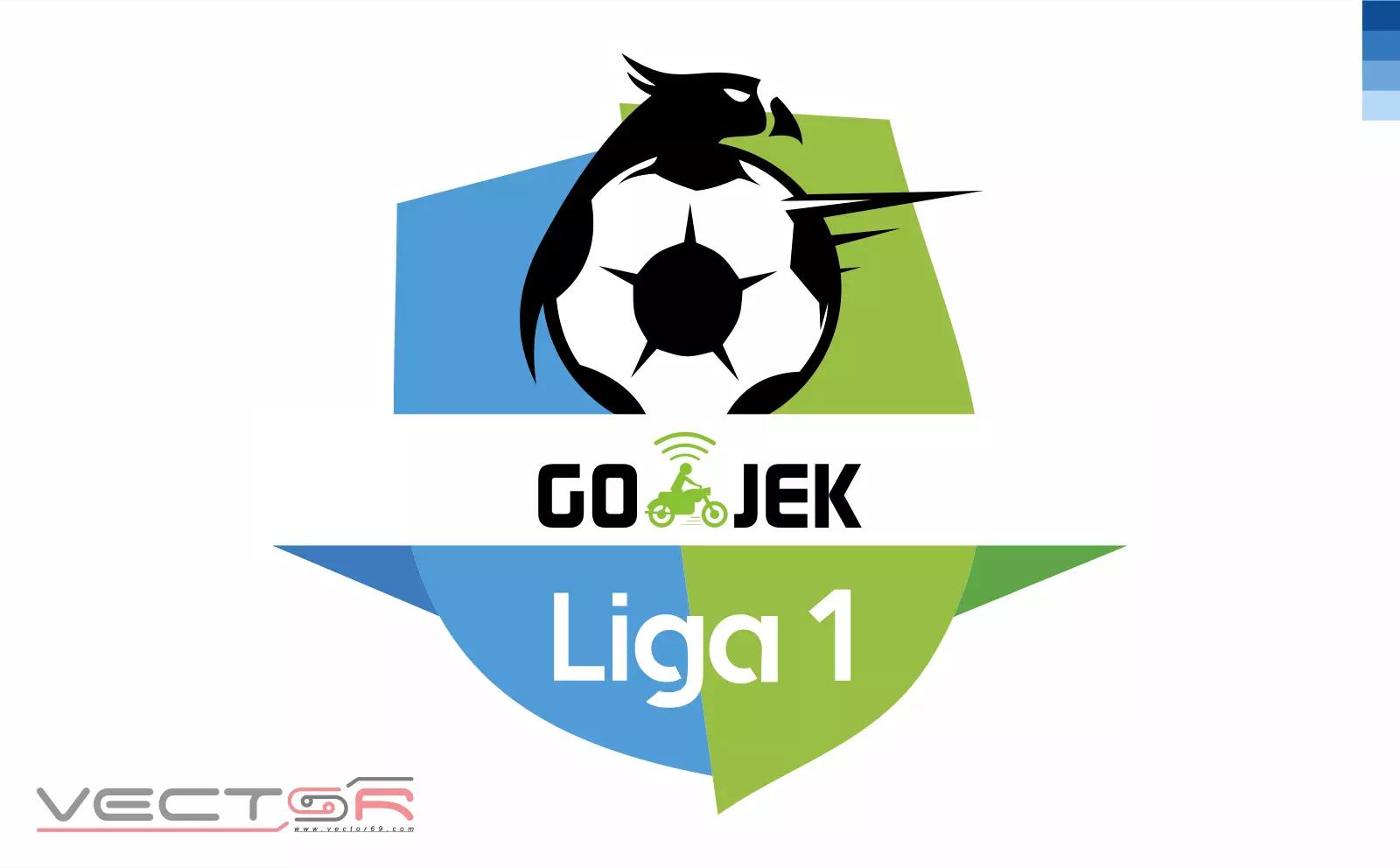 Gojek Liga 1 Indonesia Logo - Download Vector File Encapsulated PostScript (.EPS)