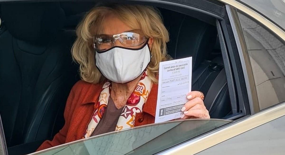 Mirtha Legrand recibió la vacuna contra el coronavirus