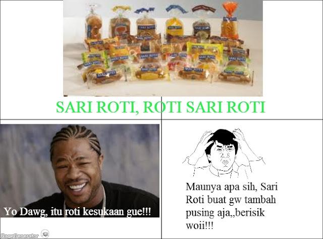 Meme Sari Roti Ini Bikin Anda Tertawa Ngakak