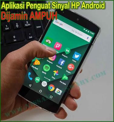 Aplikasi penguat sinyal pada HP Android