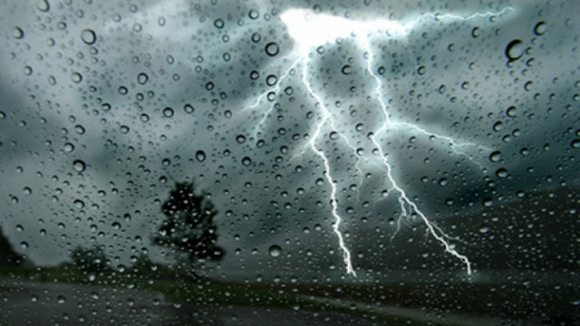Thunderstorms and rainfalls in Albania; 290 electric discharges in 10 minutes