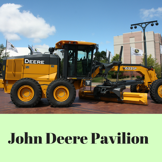 Hands-on Experiences at John Deere Pavilion in Moline, IL