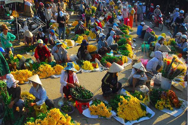 Chợ Mới: sức hút lớn từ đất nền mặt chợ