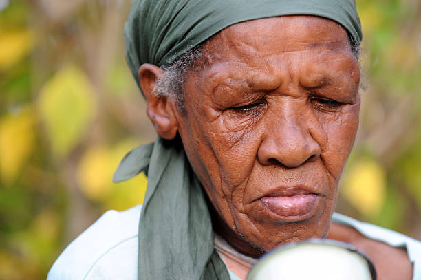 Image of Old African Woman