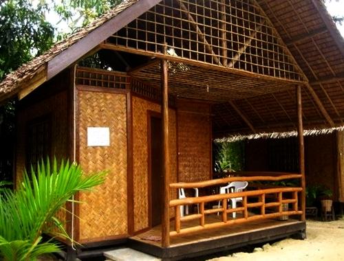 710 Poto Gambar Rumah Bambu Gratis Terbaru