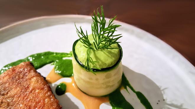 Purée de courgette, parmesan et mascarpone