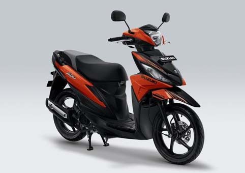 Suzuki Rilis skutik Address Playful