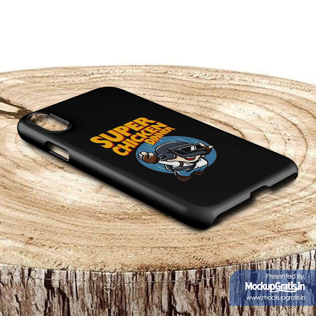 Contoh Mockup Gratis Custom Case iPhone XR