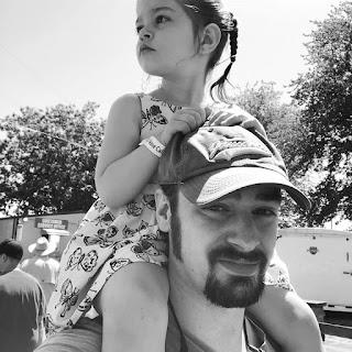 Eric and Roslyn at the Washington County Fair, 2018