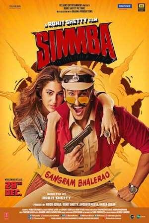 Download Simmba (2018) Hindi Movie 720p BluRay 1.2GB