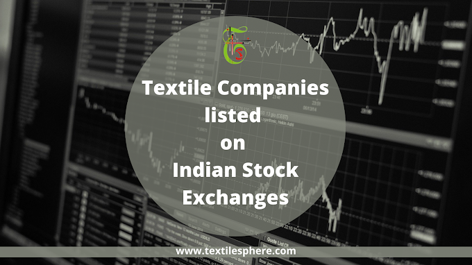 List of textile companies listed on Indian Stock Exchange (NSE & BSE)