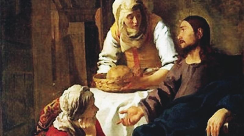 Marta uma mulher atarefada