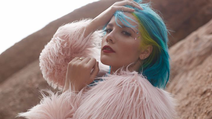 Fashionable Indie Musicians Halsey