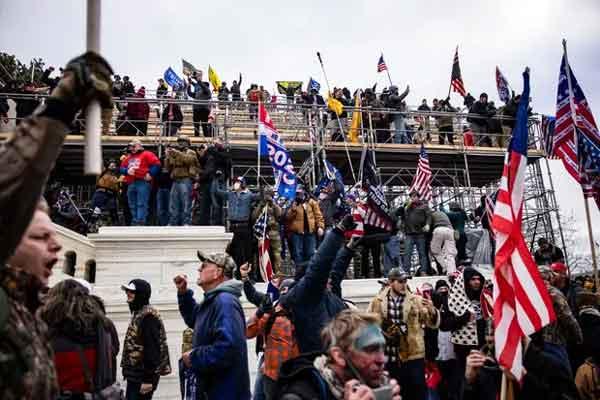 News, World, America, Washington, Donald-Trump, Election, President, President Election, Politics, Protesters, Killed, America shaken as violent pro-Trump mob storms Capitol building