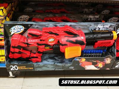 SG Toyz New Air Zone Xploderz Blasters in Singapore!