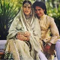 amrita singh with her husband saif ali khan