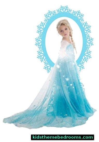 Elsa Costumes  Frozen theme Elsa bedroom - Elsa theme bedroom ideas - princess Disney Frozen - Winter theme decorations -  Frozen room decorating ideas - Disney Frozen themed decor - Queen Elsa Frozen theme bedroom decor  - Disney Frozen bedroom decorating ideas - snow queen bedroom ideas