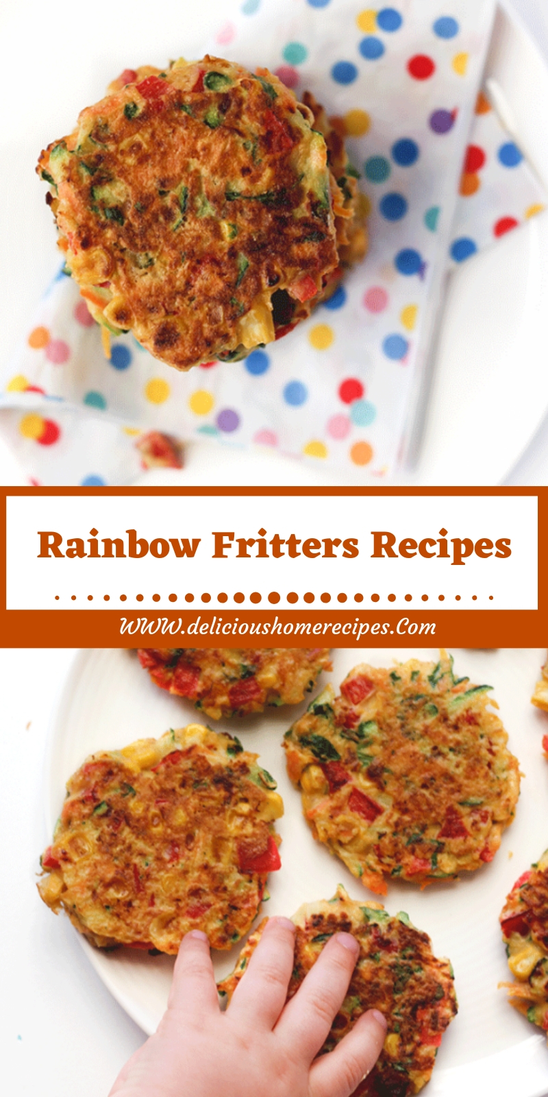 Rainbow Fritters Recipes