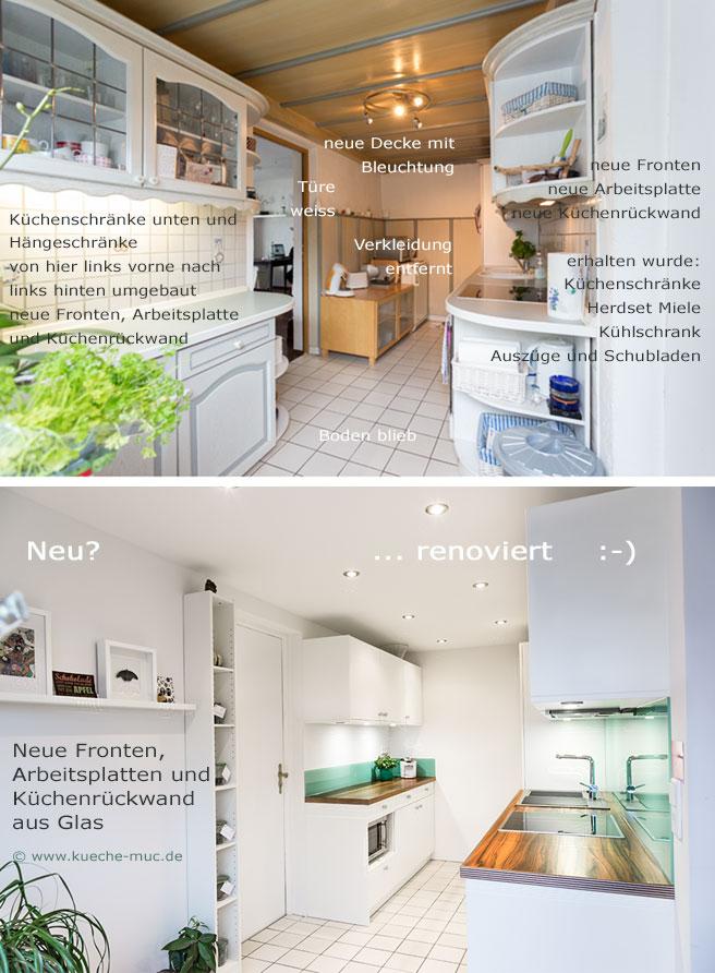 wir renovieren ihre k che k che vorher nachher. Black Bedroom Furniture Sets. Home Design Ideas
