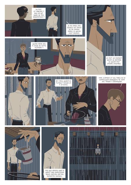 page de Kitsune de Stéphane Presle et Thibault Chimier chez La Boîte à Bulles