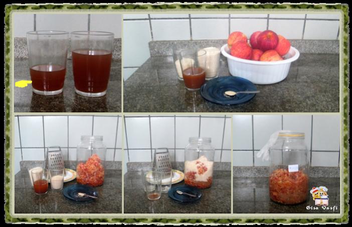 Vinagre de maçãs 8