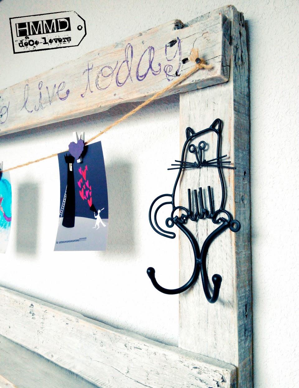 Handmademaniadecor marco de madera vintage vintage wood frame - Marcos de fotos vintage ...