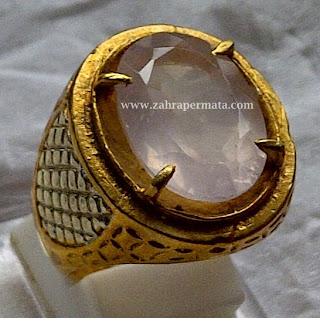 Batu Permata Rose Quartz - ZP 244