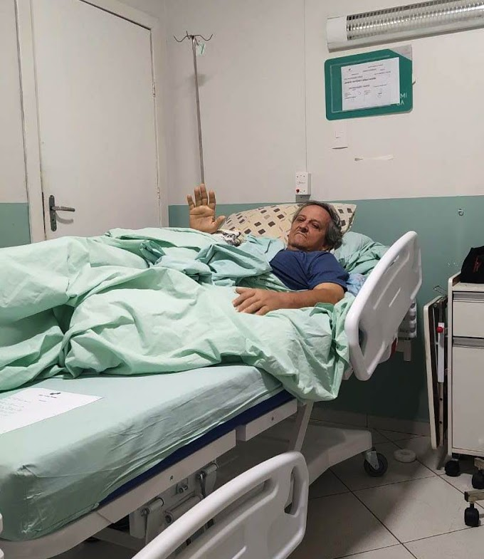 Ex- pré -candidato a prefeito de Rosário Oeste internado com hemorragia no estômago  tem alta do hospital. Estado de saúde ainda inspira cuidados