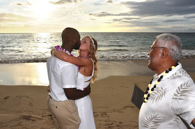 Kona Beach Wedding