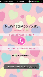 NEWhatsApp v5.85 WhatsAppMods.in