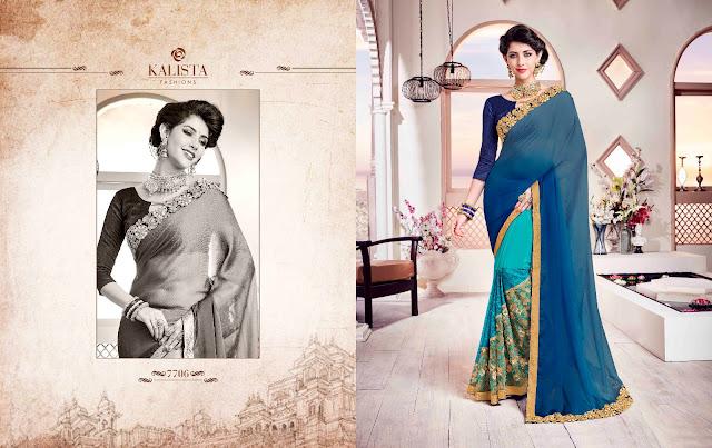 Low Price Designer Party Wear Saree Online Shopping