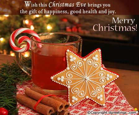 Christmas Eve Quotes Card Image